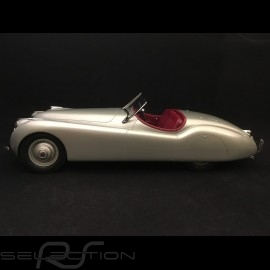 Jaguar XK 120 Cabriolet 1953 silbergrau 1/12 12ART-MATRIX 1001011