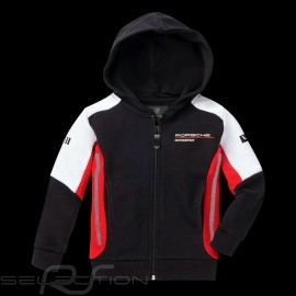 Hoodie Kapuzenjacke Porsche Motorsport 2 Collection Sweatshirt Jacke Porsche WAP432K - Kinder