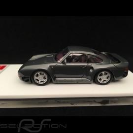 Porsche 959 1986 gray 1/43 Make Up Vision EM305E