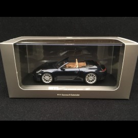 Porsche 911 Carrera S cabriolet typ 992 2019 nachtblau 1/43 Minichamps WAP0201710K