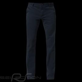 Porsche Hose Slim Fit Basic Chino Marineblau bequem Porsche Design 40469018555 - Herren