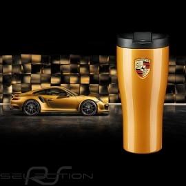 Porsche Thermo-becher 911 Turbo S goldmetallic hochglanzlackiert Porsche WAP0506240L