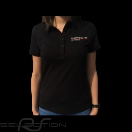 Porsche Motorsport Polo-shirt schwarz Porsche WAP806LFMS - Damen