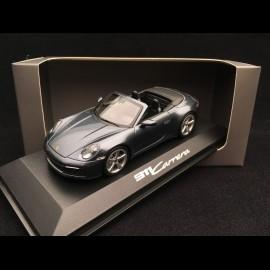 Porsche 911 Carrera cabriolet typ 992 2019 Biscay blau 1/43 Minichamps WAP0201750K