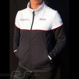 Porsche Motorsport Hugo Boss Softshell Jacke schwarz / weiß Porsche WAP435LMS - Damen
