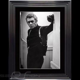 Steve McQueen Plakat Bullitt 1968 Luxus Rahmen 74 x 94
