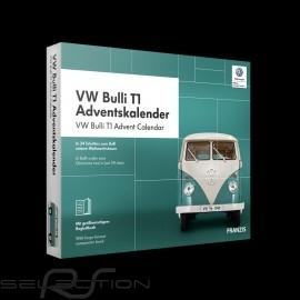 Volkswagen Adventskalender VW Bulli T1 weiß / türkis 1963 1/43 4019631670861