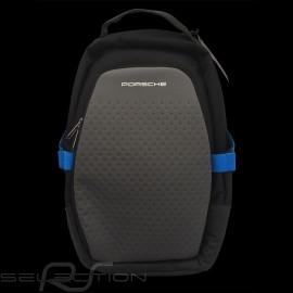 Porsche Rucksack Taycan Collection USB 13 Fächer schwarz / elektroblau WAP0356000LTYC