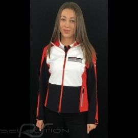 Adidas Softshelljacke Porsche Motorsport Schwarz / Weiß / Rot / Grau Porsche Design WAX30103 - kinder