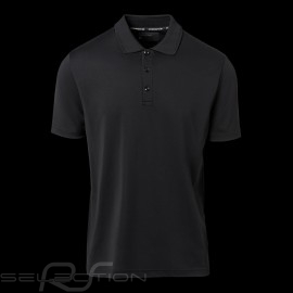 Porsche Polo shirt Signature Cool & Dry Black WAP493J - men