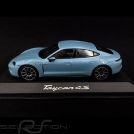 Porsche Taycan 4S 2019 gefroren blau 1/43 Minichamps WAP0207810L