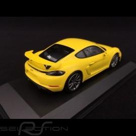 Porsche 718 Cayman GT4 typ 982 2019 speedgelb 1/43 Minichamps WAP0204160K