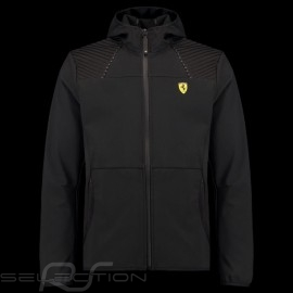 Ferrari Hoodie Jacke Softshell Schwarz Ferrari Motorsport Collection - Herren