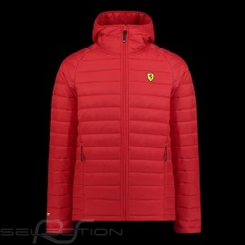 Ferrari Steppjacke Rot Ferrari Motorsport Collection - Herren