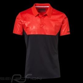 Porsche Design Polo shirt Performance Rot / Schwartz Porsche Design Colourblock Polo - Herren