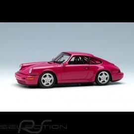 Porsche 911 typ 964 Carrera RS NGT 1992 Rubystone red 1/43 Make Up Vision VM142B