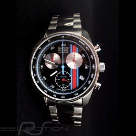 Porsche Uhr Sport Chronoraph Martini Racing Black / Edelstahl Porsche Design WAP0700710LMRC