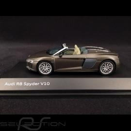 Audi R8 Spyder V10 2016 Argus brown 1/43 Herpa 5011618533