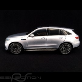 Mercedes-Benz EQC 400 4matic Silbergrau metallic 1/18 NZG 983/55