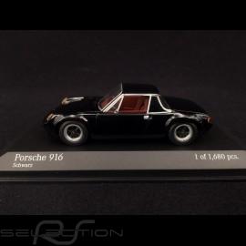 Porsche 916 1971 schwarz 1/43 Minichamps 400066060