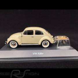 Volkswagen Käfer mit Auto Porter 1951 Beige 1/43 Schuco 450269200