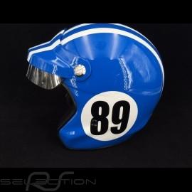 Helm Monte Carlo n° 89 France blau / weiße Streifen