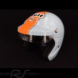 Gulf Helm Le Mans Gulf blau / orange