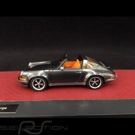 Singer Porsche 911 Targa 2014 grau 1/43 Matrix MX41607-091