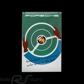 Porsche Emailleschild Years ahead in engineering 40 x 60 cm PCG00099916