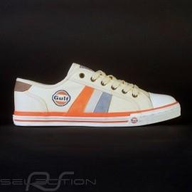 Gulf 50 Jahre Sneaker / Basket Schuhe Creme - Herren