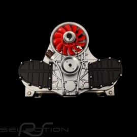 Briefhalter Porsche Flat 6 MotorRot Autoart 45577