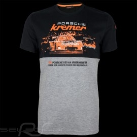 Porsche T-shirt Kremer Racing Porsche 935 K4 n° 52 Schwarz / graumeliert - Herren