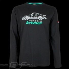 Porsche T-shirt Kremer Racing Porsche 911 Carrera n° 9 Schwarz Lange Armel - Herren