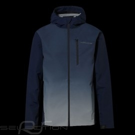 Porsche Jacke windbreaker mit Kapuze Turbo Collection Marineblau WAP217LTRB - Herren