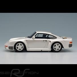 Porsche 959 1986 Perlweiß 1/43 Make Up Eidolon EM305A