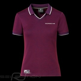 Porsche Polo shirt 911 Heritage Collection 992 Targa 4S Bordeaus rot  WAP321LHRT - Damen
