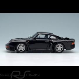 Porsche 959 1986 schwarz 1/43 Make Up Eidolon EM305D