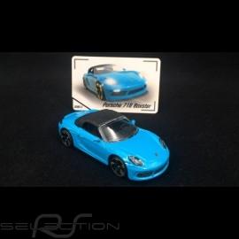 Porsche 718 Boxster Miamiblau 1/59 Majorette 212053057