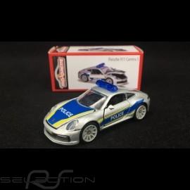 """Porsche 911 Carrera S typ 992 """"Police"""" 1/57 Majorette 212053153Q01"""