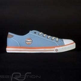 Gulf Sneaker / Basket Schuhe style Converse Gulfblau - Herren