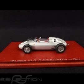 Porsche 718 F2 n° 6 1960 Platz 4 Solitude Grand Prix 1/43 TrueScale TSM114310