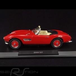 BMW 507 Cabriolet 1956 Rot 1/18 NOREV 183231