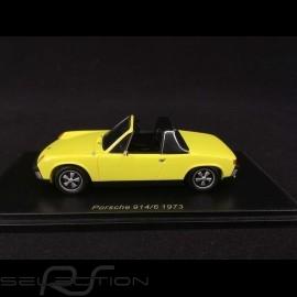 Porsche 914/6 1973 saturngelb 1/43 SPARK S4562