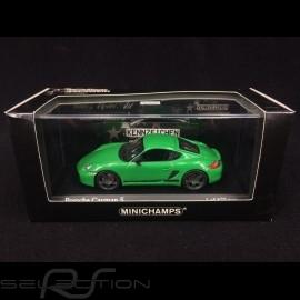 Porsche Cayman S type 987 2008 viper grün 1/43 Minichamps 400065624