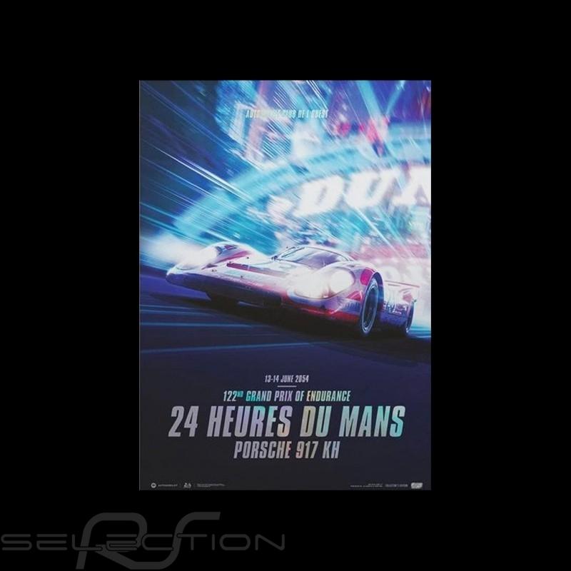Porsche Poster 917 KH n° 23 Salzburg Le Mans 2054 Limitierte Auflage