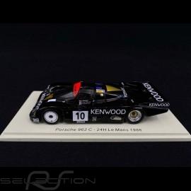 Porsche 962 C n° 10 Le Mans 1986 1/43 Spark S7509