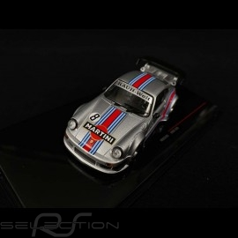 Porsche 911 type 930 RWB Rauh-Welt n° 8 Martini Silber 1/43 IXO Models MOC206