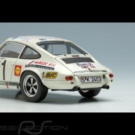 Porsche 911 R Sieger Tour de France 1969 n° 181 Larousse 1/43 Make Up Vision MV198