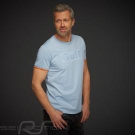 Gulf T-shirt 3D-Effekt Gulfblau - Herren