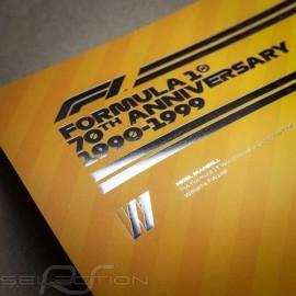 Williams Poster F1 70. Geburtstag 1990 - 1999 Limitierte Auflage